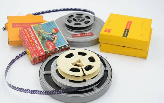 Movie Film Processing & DVD Transfer